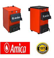 Котлы твердотопливные Amica Optima 18р кВт с плитой (Польша)