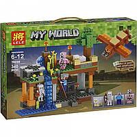 """Конструктор Lele Minecraft """"Воздушная гавань"""" 79256, 340 деталей , фото 1"""