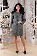 Модное женское демисезонное пальто в 3х цветах В-1093 Aрт.160406, фото 1