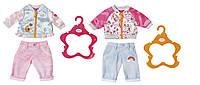 Набор одежды для куклы BABY BORN СПОРТИВНИЙ КЭЖУАЛ 2 вида вассортименте(824542)