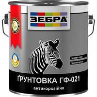 """Грунт ГФ-021 """"Зебра"""" красно-коричневый 12,0 кг"""