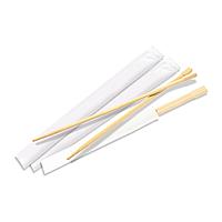 Палочки бамбуковые в белой упаковке 24 см
