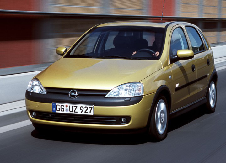 Лобовое стекло Opel Corsa С (2000-2006)