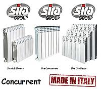 Батареи отопления биметалл Sira Concurrent 500*85. 100% Италия