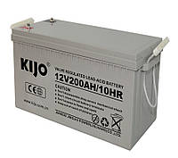 Аккумулятор гелевый Kijo JDG 200 Ач 12В GEL (герметичный)