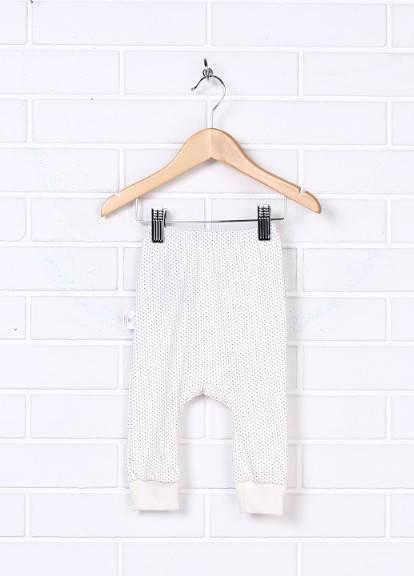 Ясельные штаны в горошек на резинке
