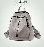 Рюкзак женский Lookgood серый.