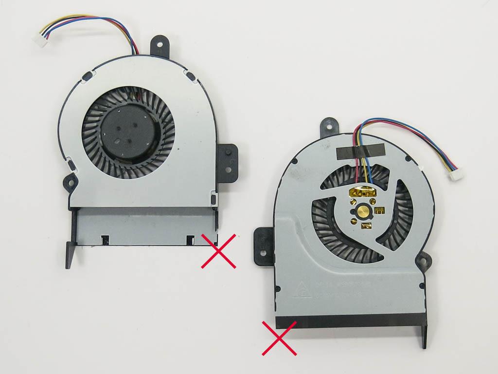 Уценка! Вентилятор (кулер) ASUS K55A, K55C, X55V, X55VD, X45C, X55C, X
