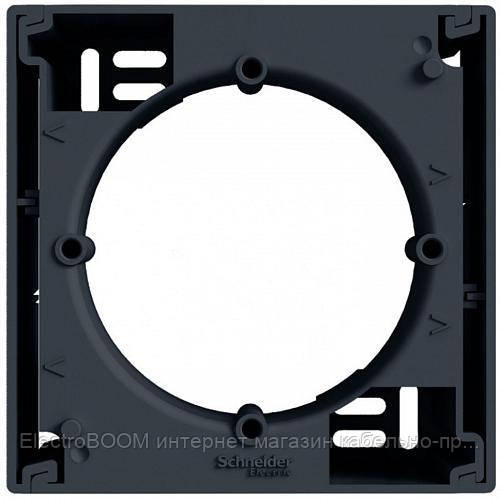 Коробка для наружного монтажа дополнительная Schneider Asfora Антрацит (EPH6100271)