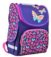 Яркий каркасный рюкзак PG-11 Butterfly pink