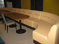 Перетяжка мягкой мебели для торгово-развлекательных центров