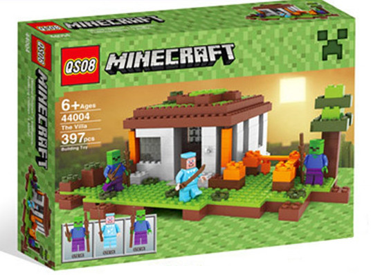 "Конструктор ""Minecraft"" 44004, 400 деталей"