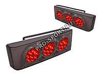 """Задние фонари pro-sport ВАЗ 2108, 2109, 21099, 2113, 2114 """"Terminator"""" светодиодные тонированные/хром RS-03004, фото 1"""