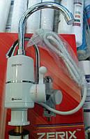 Водонагреватель проточный ZERIX, электрический кран с подогревом, фото 1