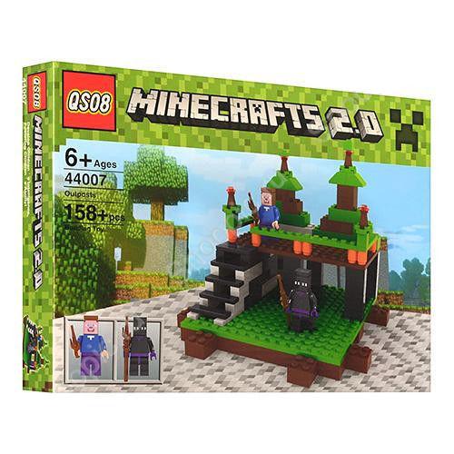 "Конструктор ""Minecraft"" 44007, 158 деталей"
