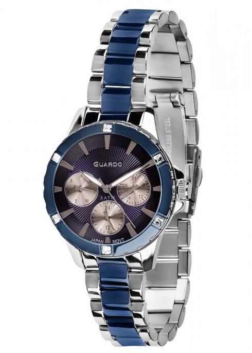 Жіночі наручні годинники Guardo B01118(m) SBl