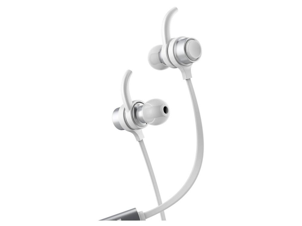 Наушники Baseus B16 Comma Bluetooth Silver/White