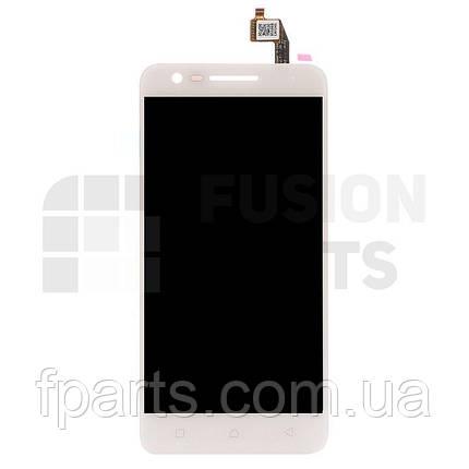 Дисплей Lenovo K10a40 Vibe C2 Power с тачскрином (White), фото 2