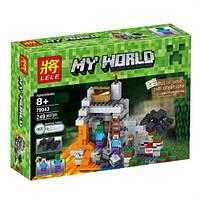 """Конструктор """"Minecraft"""" Lele 79043 Пещера 249 дет , фото 1"""