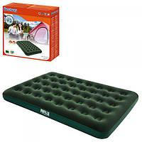 Надувной велюровый матрас-кровать для пляжа 191х137х22см Bestway (67448)