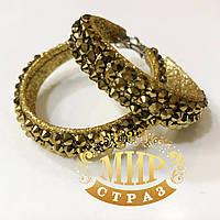 Серьги-кольца, цвет Gold