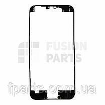 Рамка дисплея iPhone 6 с термоклеем (Black), фото 3