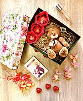 Подарочный набор с духами и мягкой игрушкой