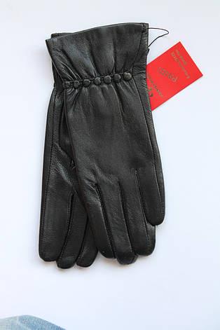Женские кожаные перчатки кожа - Маленькие, фото 2