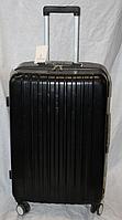 Чемодан большого размера черного цвета