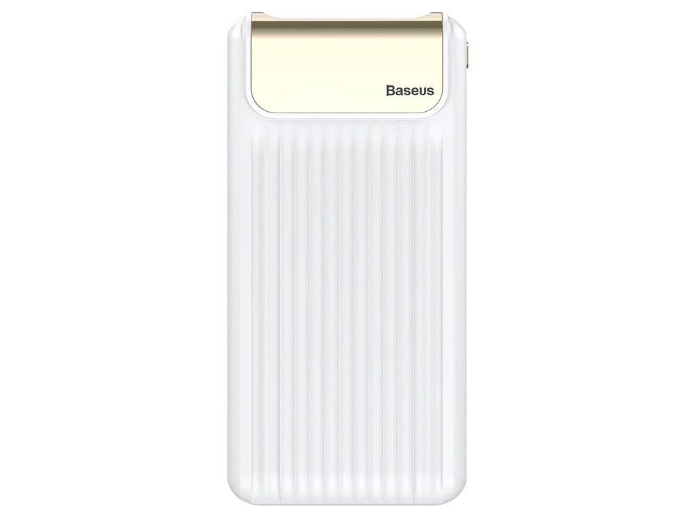 Внешний Аккумулятор Baseus Thin Quick Charge 3.0 10000mAh White