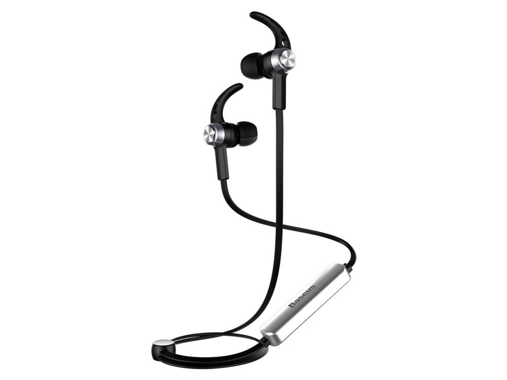 Наушники Baseus Licolor Bluetooth Silver/Black