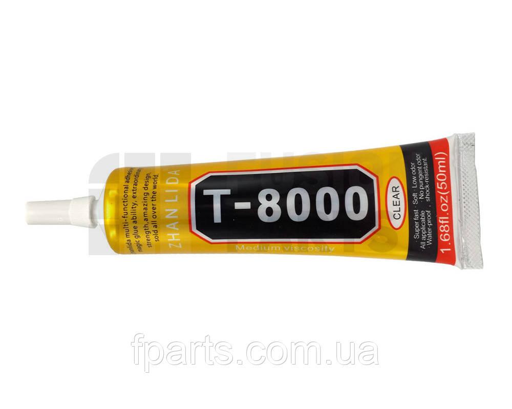 Клей силиконовый T8000 50 ml. (прозрачный)