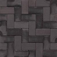 Клинкерное мощение MUHR PK 40 Nr. 15 Schwarz-bunt Edelglanz - Черный пестрый глянцевый