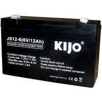 Аккумулятор AGM Kijo JS 6В 12 Ач - гелевый