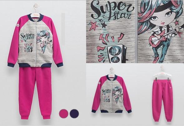 Красивый спортивный костюм Super Star