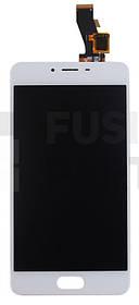 Дисплей Meizu M3S (Y685H) с тачскрином White