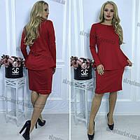 "Костюм женский двойка БАТАЛ (50-56) ""Deva"" купить со склада 2P/NS 2008"