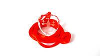 Хрустальный Кулон-защита (Весы) + красная шёлковая нить