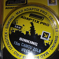 Лидкор MAD ADAPTIX PRO DENSITEX 15M/25LB CAMO