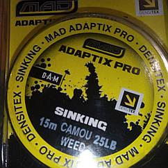 Лидкор MAD ADAPTIX PRO DENSITEX 15M/25LB CAMO