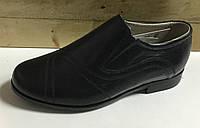 Детские кожаные туфли для мальчиков размеры 29-39