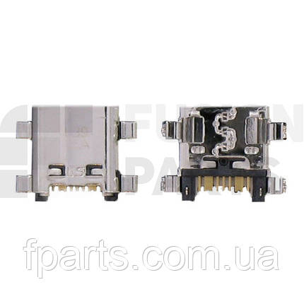 Коннектор зарядки Samsung S7270/S7272/S7580/S7582/G350/G355/G530/G531/G7102/G7105/J510/J710, фото 2