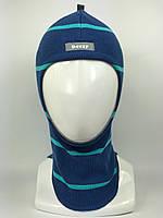 Весенняя шапка-шлем для девочки 1705-23