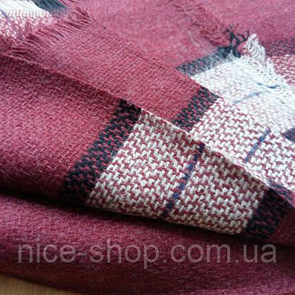 Стильный шерстяной платок, фото 3