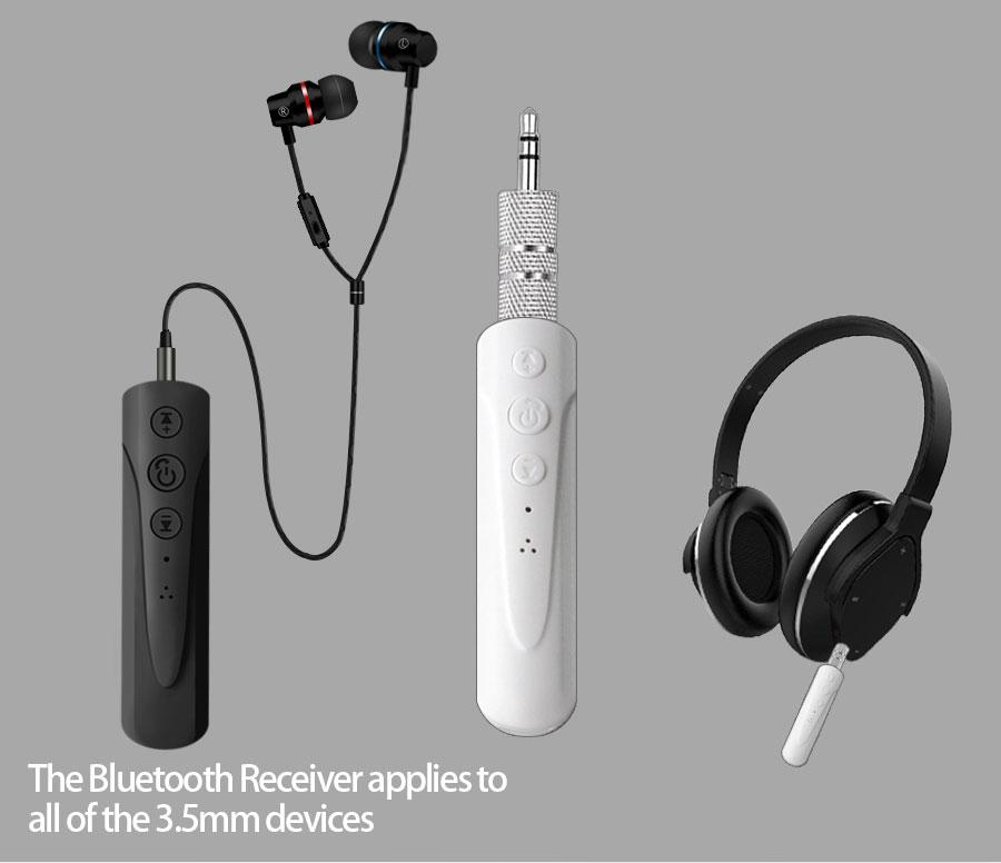 Bluetooth AUX приемник,адаптер, блютуз гарнитура наушники, ГРОМКАЯ СВЯЗЬ ST-006