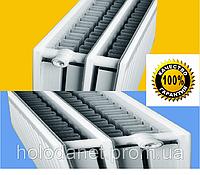 Стальной радиатор Sanica 33тип, 500х500 боковое подключение