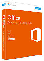 Microsoft Office Home and Business 2016 32/64Bit Ukrainian CEE Only DVD P2 (T5D-02734 ) BOX