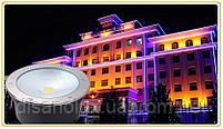 Cветильник грунтовый QR-05 LED COB 30W 230в  размер:D220 * 95 мм IP 67 6000К, фото 2
