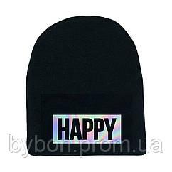 Шапка Happy, hologram