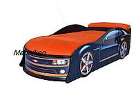 Кроватка машина Камаро черная